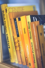 kaboompics.com_Only yellow books